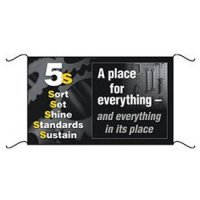 5S Banners and Wallcharts - 5S A Place for Everything and Everything In Its Place