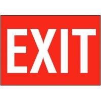 Exit Sign - Self-Adhesive Vinyl