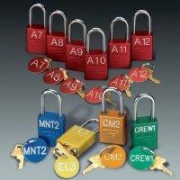 American Lock® Custom Engraved Padlocks with Key Tags