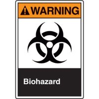 ANSI Safety Signs - Warning Biohazard