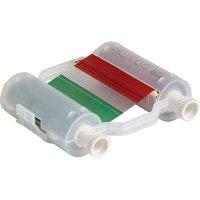 Brady B30-R10000-GR-8 B30 Series Ribbon - Green/Red