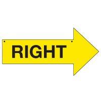 Bulk Arrow Signs - Right