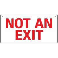 Bulk Exit Signs - Not An Exit