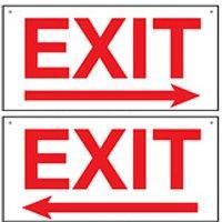 Bulk Exit Signs - Exit With Arrow