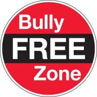 Bully Free Zone Circular Signs