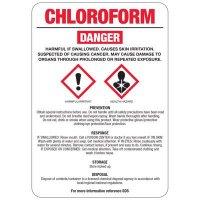 Chloroform GHS Sign