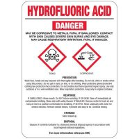 Hydrofluoric Acid GHS Sign