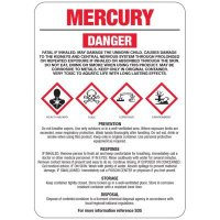 Mercury GHS Sign