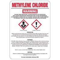Methylene Chloride GHS Sign