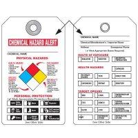 NFPA Tags - Chemical Hazard Alert