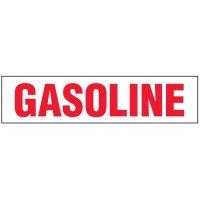 Chemical Labels - Gasoline