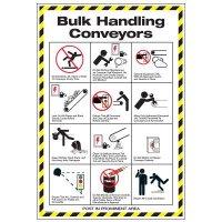 Conveyor Safety Poster - Bulk Conveyor Safety