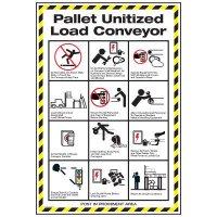Conveyor Safety Poster - Pallet Conveyor Safety