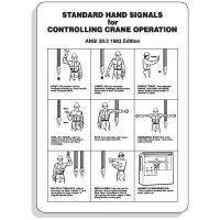 Crane Hand Signal Signs