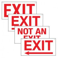 Custom Bulk Exit Signs