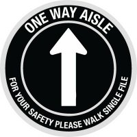 Custom One Way Anti-Slip Floor Markers