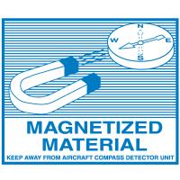 Magnetized Material Regulatory Labels