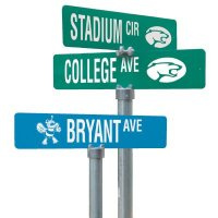 Deluxe and Standard Street Sign Kits