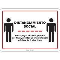 Distanciamiento Social Sign