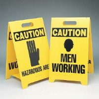Double-Sided Floor Stand Signs