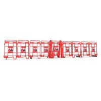 Seton EasyProtect™ Folding Barricade - Danger Do Not Enter