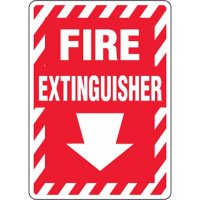 Eco-Friendly Signs - Fire Extinguisher