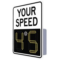 SafePace® EV11 Radar Feedback Sign