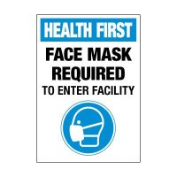 Face Mask Required Label