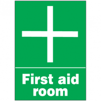 First Aid Signs - First Aid Room