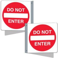 Flanged Traffic Signs - Do Not Enter