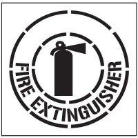 Floor Stencils - Fire Extinguisher