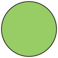 Fluorescent Green Dot Labels