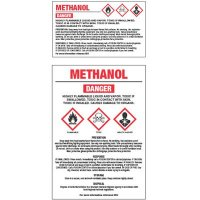 GHS Chemical Labels - Methanol