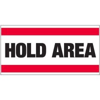 Giant Quality Control Wall Sign - Hold Area