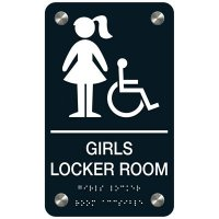 Girls' Locker Room Sign (Accessibility)