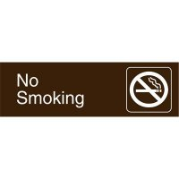 Graphic Architectural Signs - No Smoking