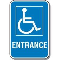 Handicap Signs - Entrance (Symbol of Access)
