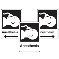 Health Care Facility Wayfinding Signs - Anesthesia
