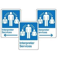 Wayfinding Signage - Interpreter Services