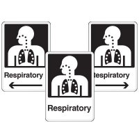 Health Care Facility Wayfinding Signs - Respiratory