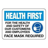 COVID-19 Signs - Face Mask Required