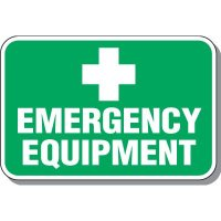 Emergency Equipment Signs