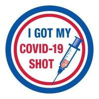 I Got My COVID-19 Shot Sticker