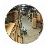Indoor Acrylic Convex Mirror, Z Bracket