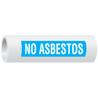 Seton Code™ No Asbestos Insulation Marker