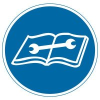 International Symbols Labels - Consult Technical Manual For Proper Procedure (Graphic)