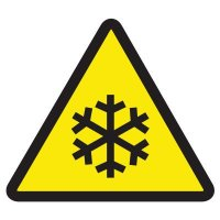 International Symbols Labels - Low Temperature Hazard