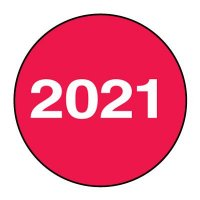 2021 Inventory Dot Paper Labels