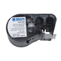 Brady M-91-427 BMP51/BMP41 Label Cartridge - Black on White/Clear