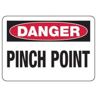 Danger Signs - Pinch Point